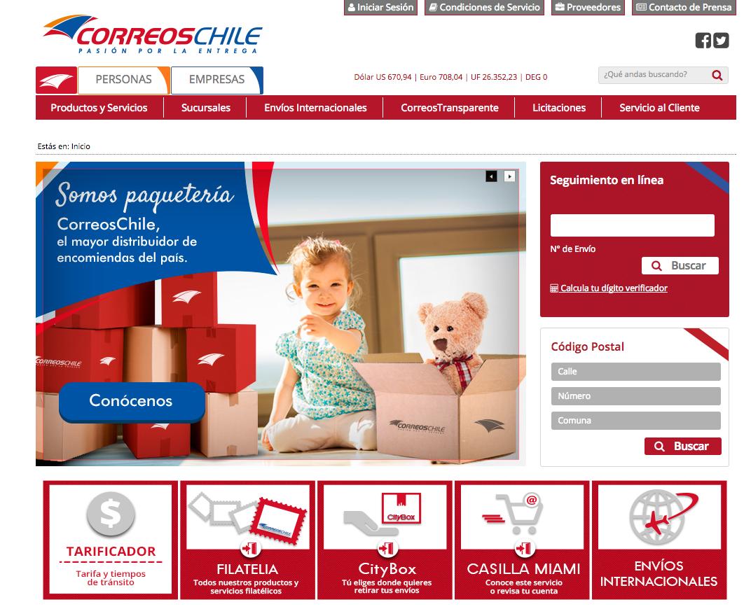 Correos Chile - Casilla Miami y CityBox Se Unieron