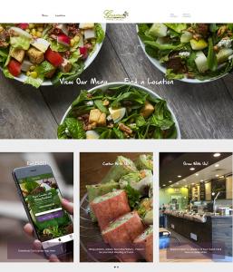 Giardino Salads - Iblesoft Portfolio