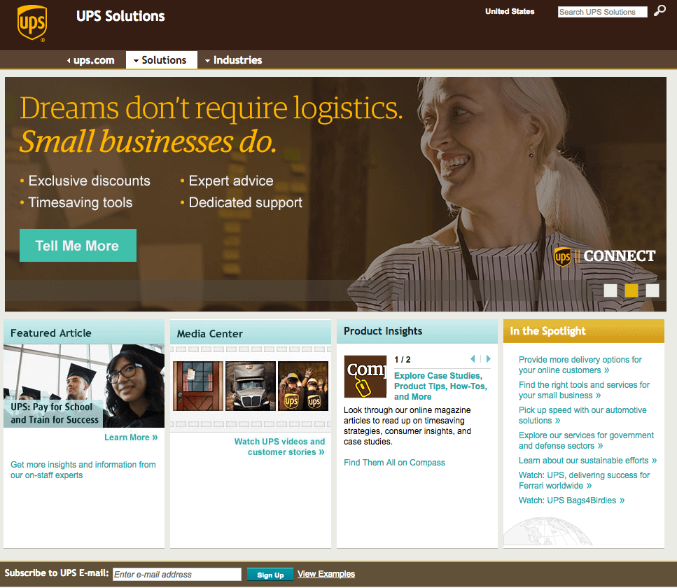 UPS Solutions
