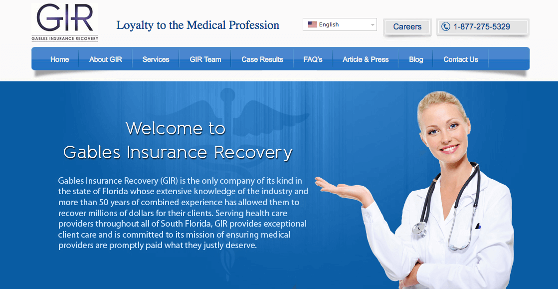gables insurance recovery